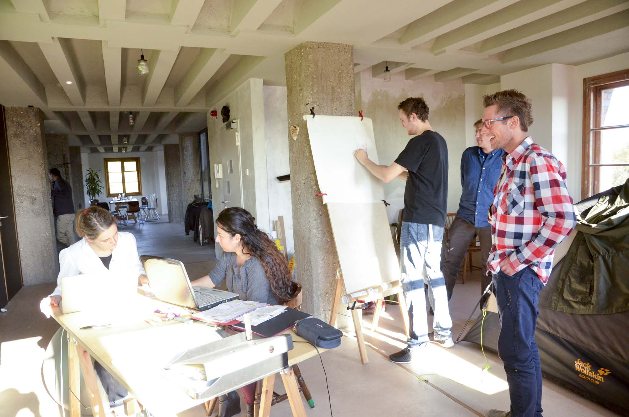 Workshop im Turm